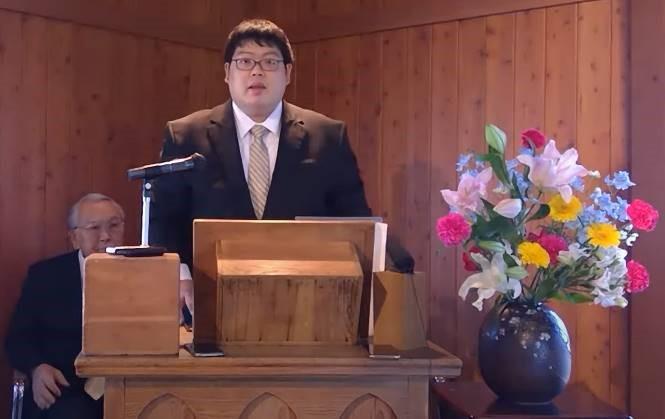 4月19日講壇 義也牧師